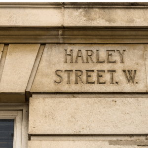 Harley Street sign
